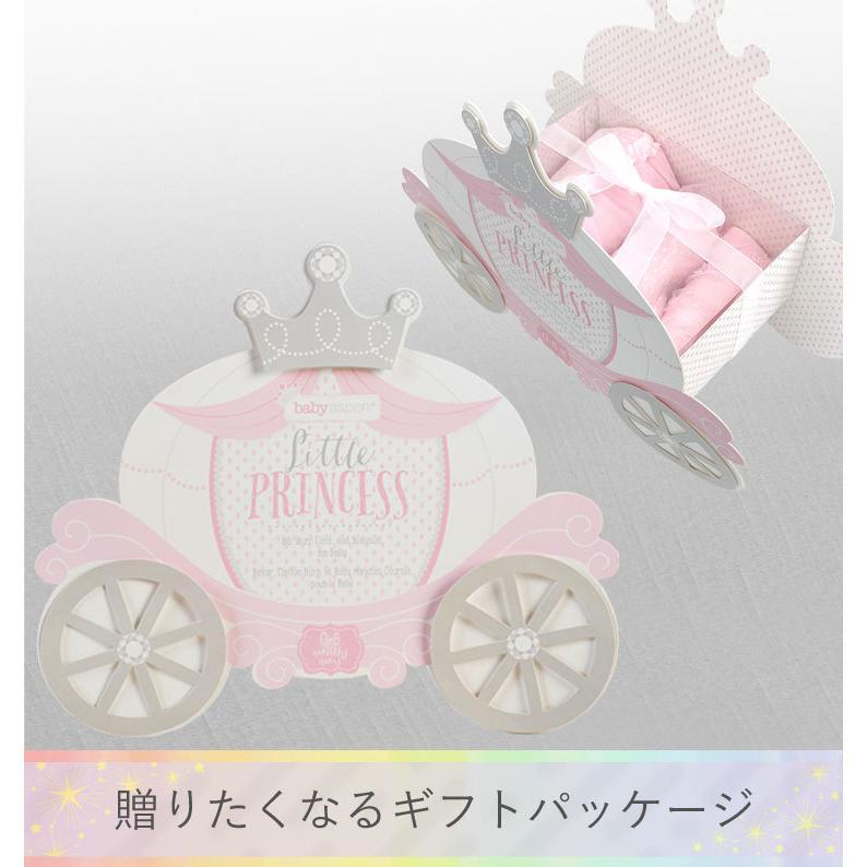 ベビーアスペン ギフト 3点セット 0〜6ヶ月 リトルプリンセス BABY ASPEN (ベビーシャワー 出産祝い 女の子 1歳 )|gudezacom|08