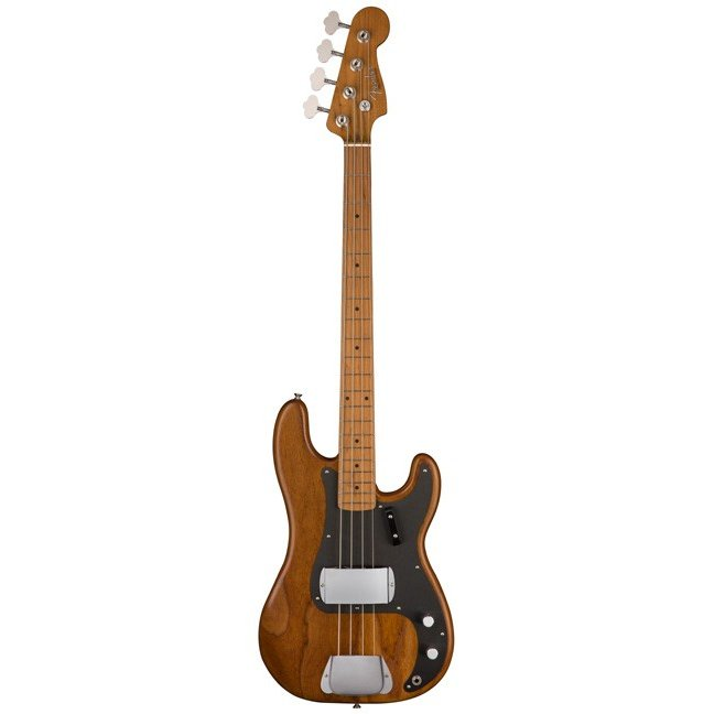 Genuine Fender American Vintage Precision Bass Bridge Cover Chrome NEW