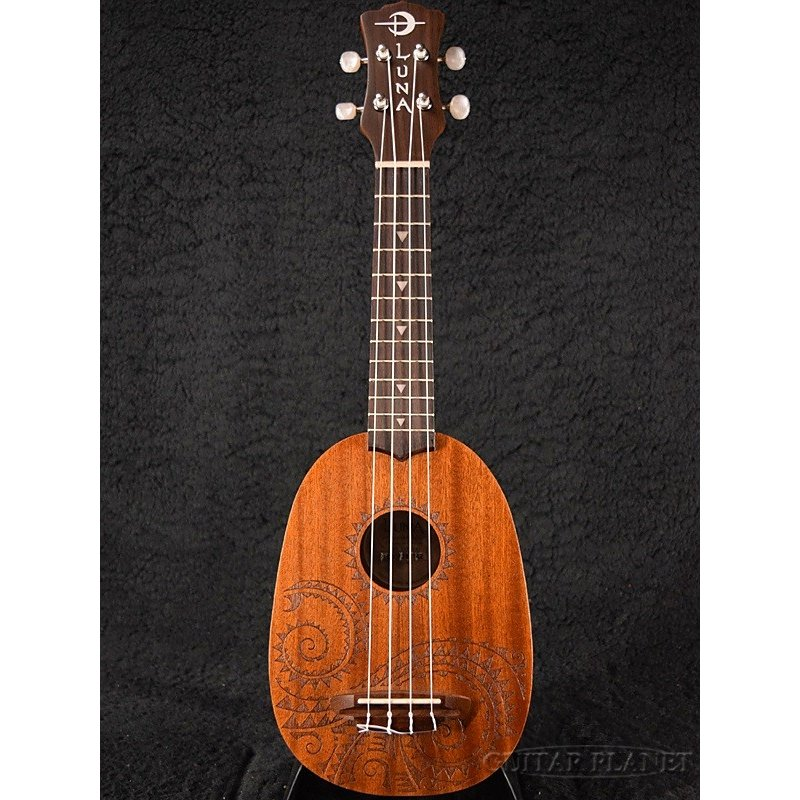 Luna Guitars Uke Tattoo Pineapple ソプラノウクレレ