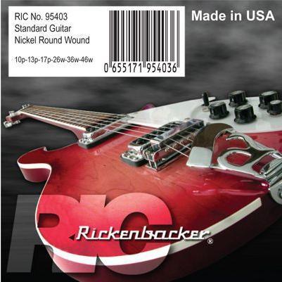 Rickenbacker #95403 10-46 Standard Guitar Strings|guitarplanet