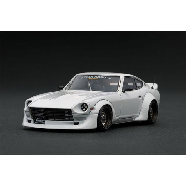 ignition model(イグニッションモデル) 1/43 日産 フェアレディZ (S30) STAR ROAD ホワイト ★生産予定数:100pcs