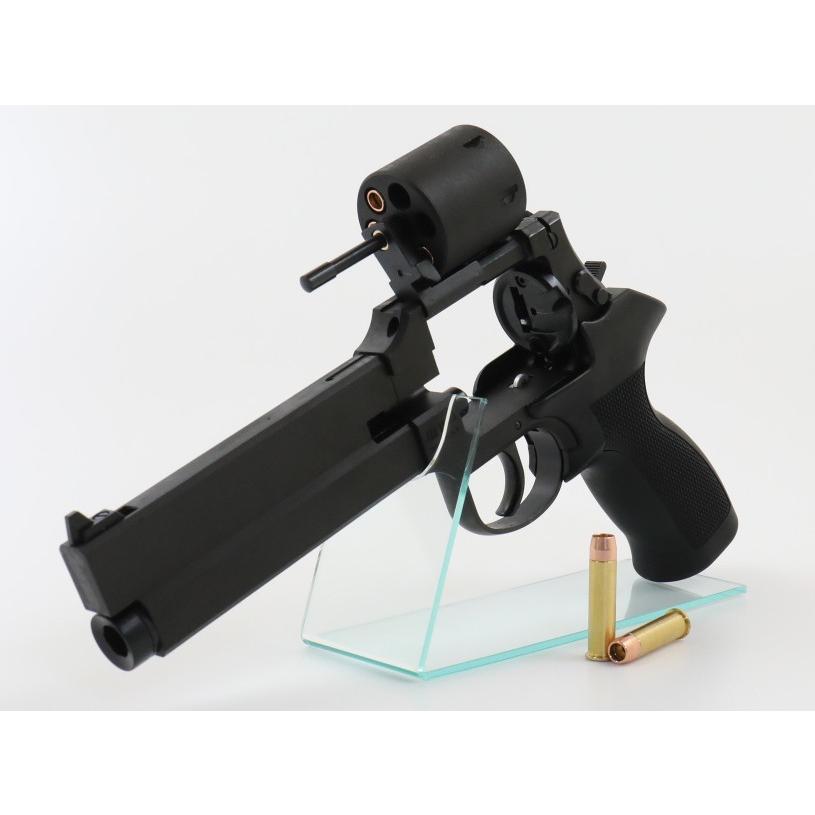 マテバ リボルバー ブラックHW ブラックラバー塗装グリップ仕様 6mm Xカートリッジ仕様 マルシン工業 ガスリボルバー 05909 (18歳以上)