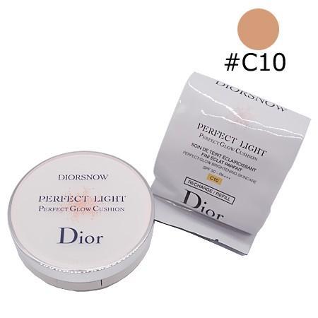 クリスチャンディオール ディオール スノー パーフェクト ライト クッション #C10 (リキッドファンデーション) 15g【ネコポス不可】 guruguru-cosme