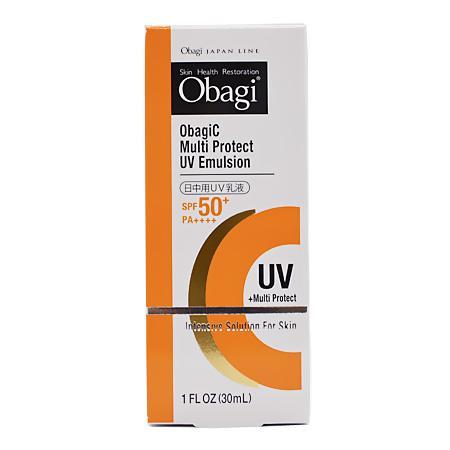 オバジ オバジC マルチプロテクト UV乳液 (日焼け止め乳液) 30ml【ネコポス不可】|guruguru-cosme