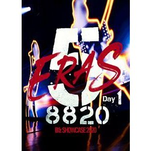 B'z SHOWCASE 2020 -5 [並行輸入品] ERAS 8820- Day1 Blu-ray 初回仕様 定番の人気シリーズPOINT ポイント 入荷