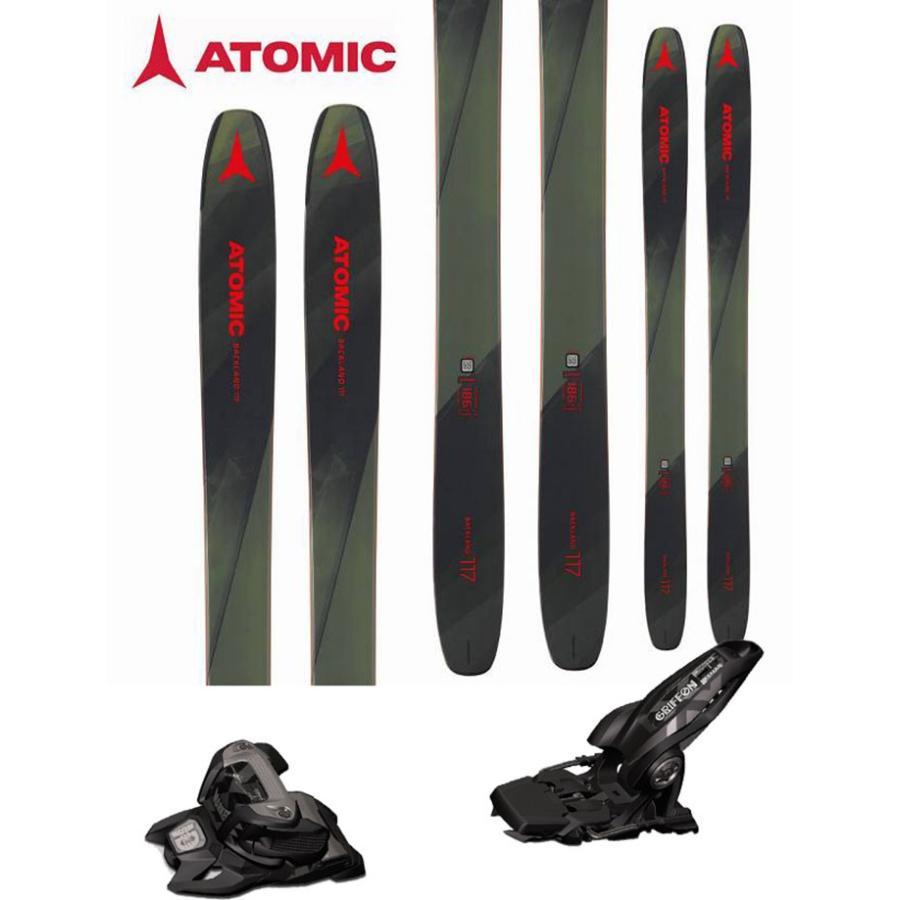 【大放出セール】 ATOMIC アトミック BACKLAND 18-19 スキー 2019 BACKLAND 117 (マーカー 18-19 (マーカー GRIFFON 13 ID 金具付き 2点セット) パウダー ロッカー (one):BACKLAND117SET, オオウチヤマムラ:71ca95bd --- airmodconsu.dominiotemporario.com