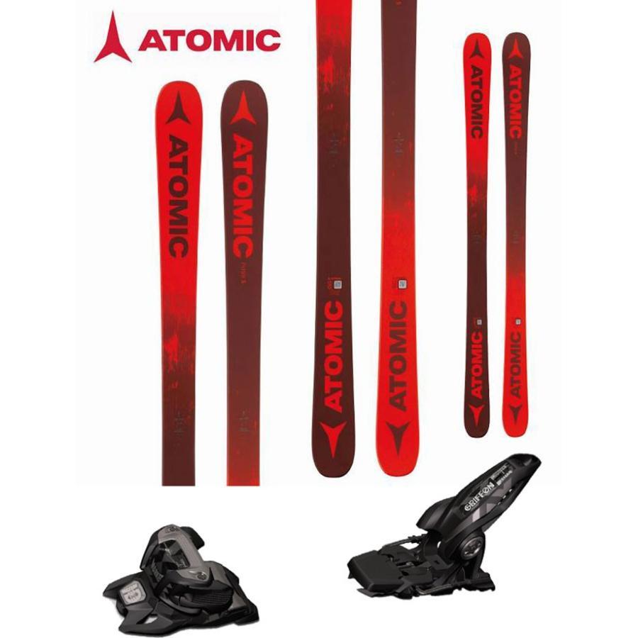 ATOMIC アトミック 18-19 スキー 2019 PUNX 5 (マーカー GRIFFON 13 ID 金具付き 2点セット) フリースタイル ツインチップ (one):PUNX5SET