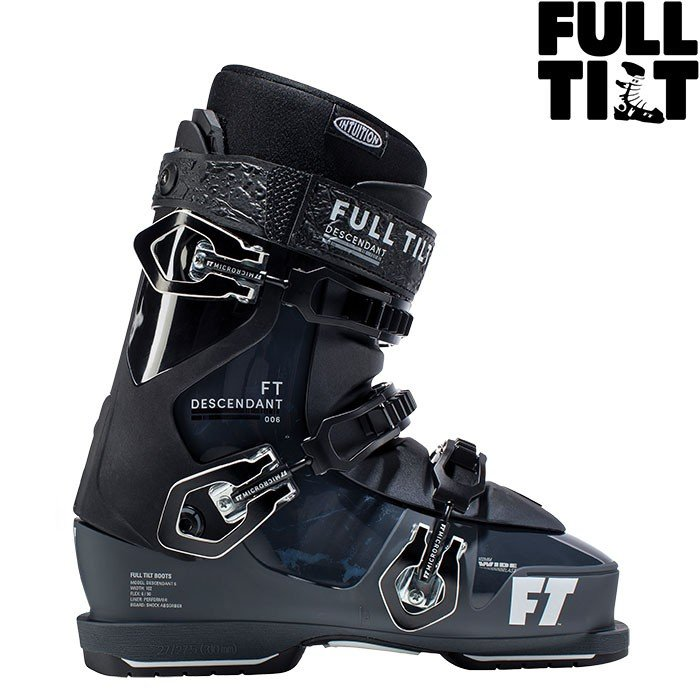 18-19 FT フルチルト スキーブーツ DESCENDANT 6 ディセンダント6〔2019 フリースタイル モーグル〕 :j181600701