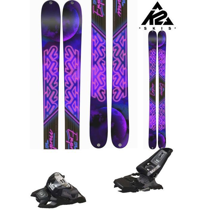 K2 18-19 スキー Ski 2019 EMPRESS エンプレス ( マーカーSQUIRE 11 ID 金具付き 2点セット) フリーライド フリースタイル (ONE):EMPRESS_set