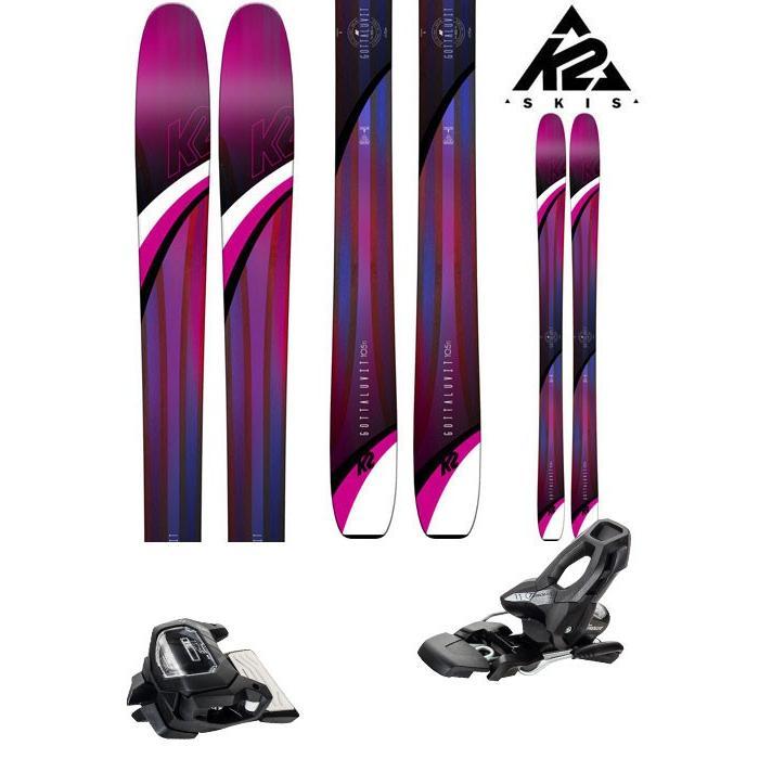 暮らし健康ネット館 K2 2点セット) 18-19 GW スキー Ski 2019 GOTTALUVIT 105 TI 105 ゴッタラビット 105ti (アタック11 GW 金具付き 2点セット) パウダー レディース (ONE):GTLUV105set, セレクトショップアン:335ca6f8 --- airmodconsu.dominiotemporario.com