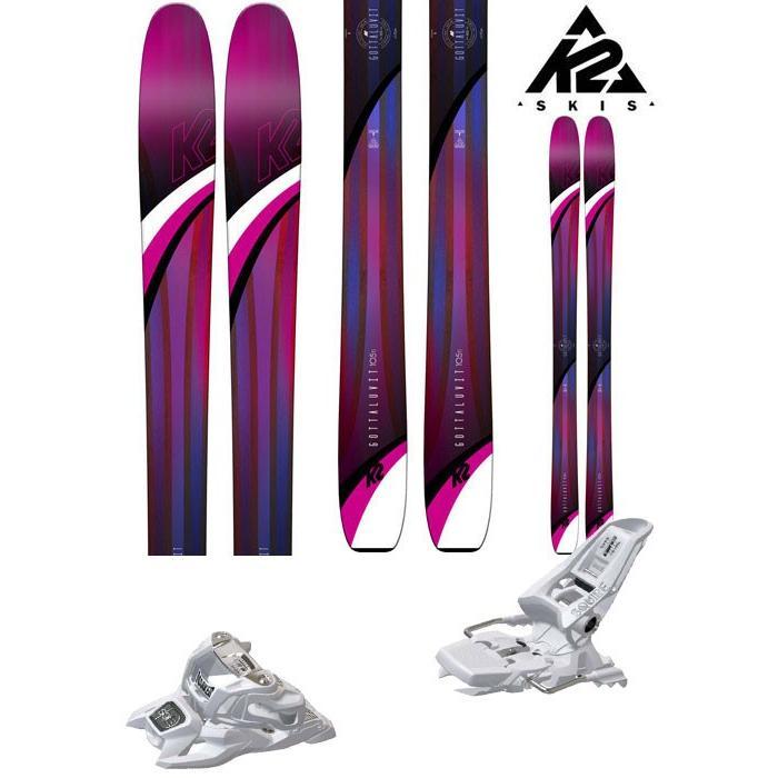【時間指定不可】 K2 18-19 18-19 スキー Ski レディース 2019 ID GOTTALUVIT 105 TI (マーカー SQUIRE 11 ID 金具付き 2点セット) レディース (ONE):GTLUV105set, DVS-SHOPS:af04b0f6 --- airmodconsu.dominiotemporario.com