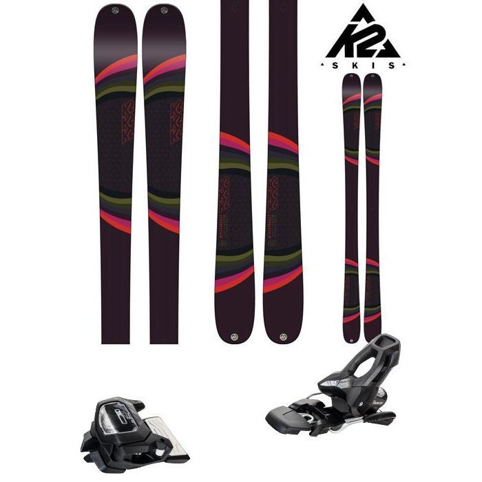 K2 18-19 スキー Ski 2019 K2 MISSCONDUCT (アタック11 GW 金具付き 2点セット) オールマウンテン フリーライド フリースタイル (ONE):MISSCONDset
