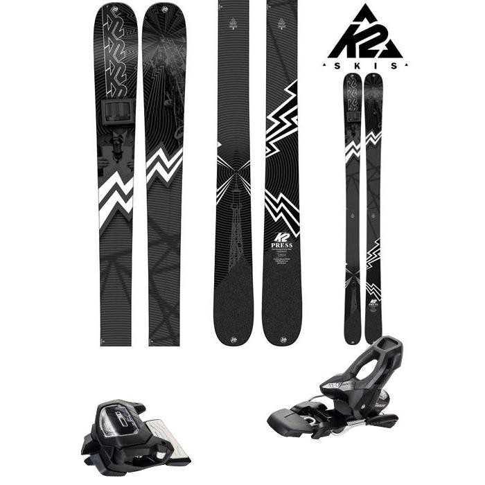 K2 18-19 スキー Ski 2019 PRESS プレス (チロリア アタック11 GW 金具付き 2点セット) フリーライド フリースタイル (ONE):PRESSset