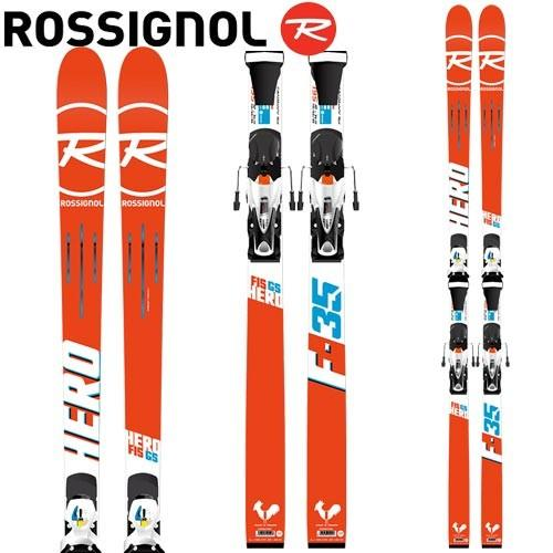 ロシニョール HERO FIS GS (R21 WC) + SPX15 ROCKERFLEX 白い Icon (金具付き) FIS対応 GSスキー レーシング