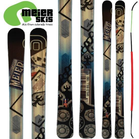 マイヤー meier 17-18 スキー SKI 2018 wild bill ワイドビル (板のみ) オールマウンテン パウダー: