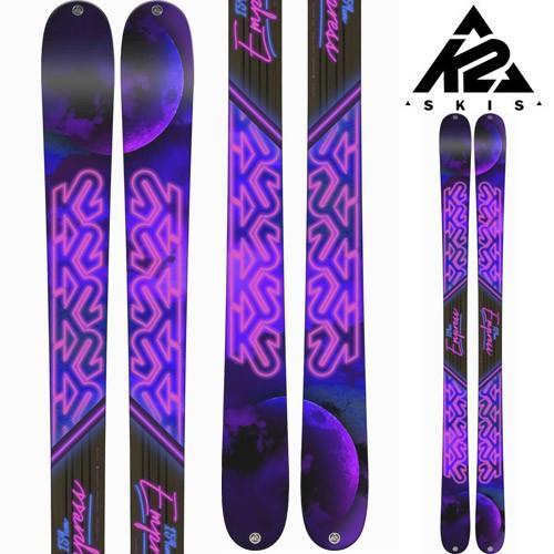 18-19 K2 ケーツー スキー Ski 2019 EMPRESS エンプレス (板のみ) ロッカー オールマウンテン フリーライド フリースタイル:
