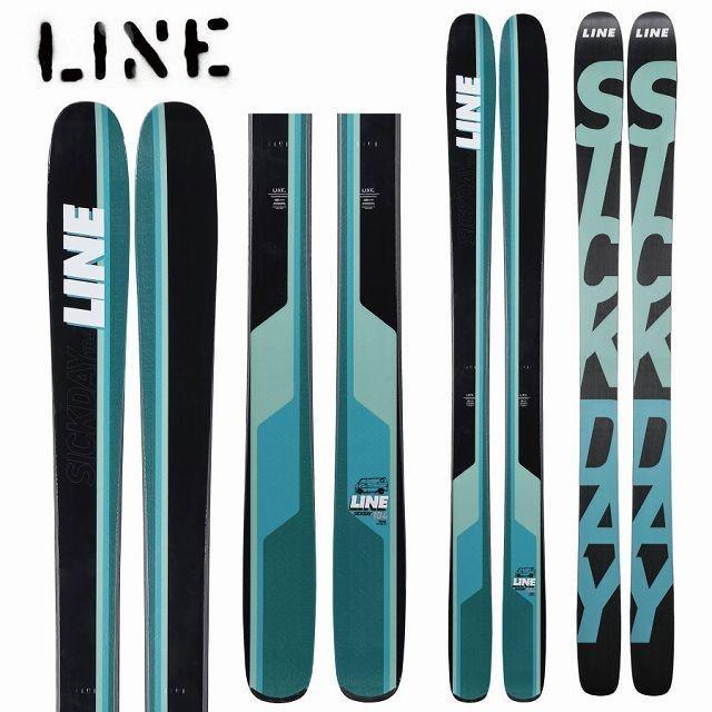 ウイスキー専門店 蔵人クロード 18-19 LINE ライン スキー Ski 2019 SICK DAY 104 シックデイ 104 (板のみ) パウダー ロッカー:, ライフサポート ハマヤ 8438f203