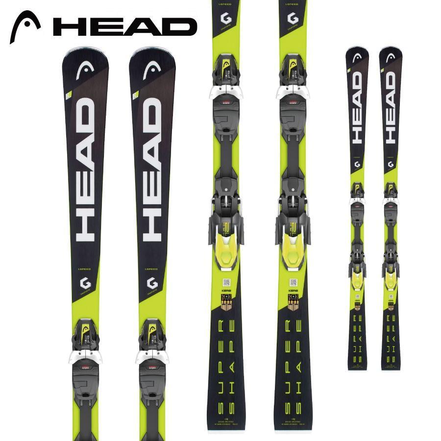 【即納!最大半額!】 HEAD ヘッド 18-19 スキー Ski 2019 スーパーシェイプ スピード SUPERSHAPE I SPEED (PRD 12 GW 金具付き) 基礎 デモ オールラウンド:, きものLife 4c54cf42