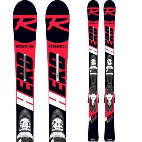 ROSSIGNOL ロシニョール 19-20 スキー 2020 ヒーロー ジュニア HERO JUNIOR MULTIEVENT (XPRESS JR 7金具付き) 基礎 オールラウンド