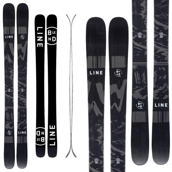 LINE ライン 19-20 スキー BLEND ブレンド (板のみ) スキー板 2020 フリースタイル オールマウンテン (onecolor):