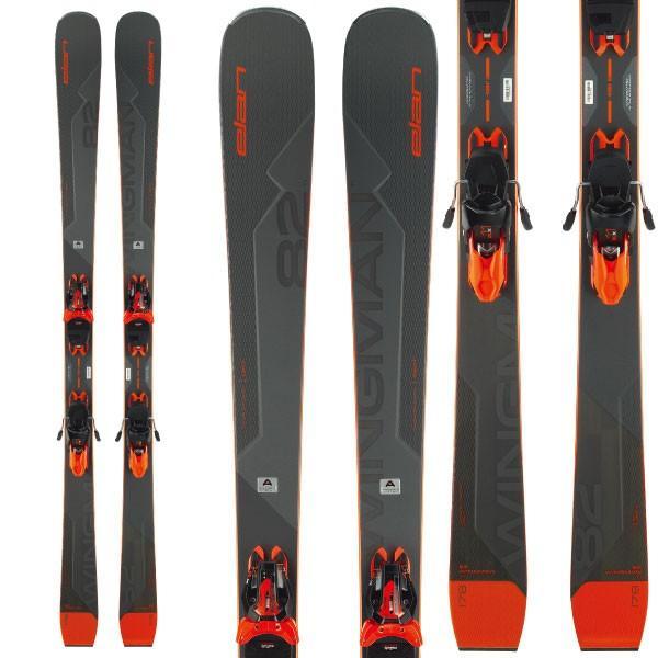 ELAN エラン 19-20 19-20 19-20 スキー 2020 WINGMAN 82Ti Power Shift ウイングマン82Ti (金具付き) オールラウンド デモ スキー板: 9c2