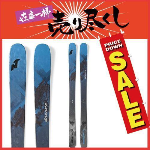 春早割 NORDICA ノルディカ 19-20 スキー 2020 ENFORCER FREE 104 エンフォーサーフリー 104(板のみ) スキー板 パウダー ロッカー レディース:, エムアル f9004e92
