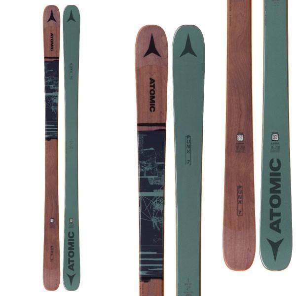 ATOMIC アトミック 19-20 スキー 2020 PUNX SEVEN パンクスセブン (板のみ) スキー板 フリースタイル (onecolor):