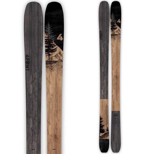 4FRNT フォーフロント 19-20 スキー 2020 MSP 99 (板のみ) スキー板 パウダー ロッカー:
