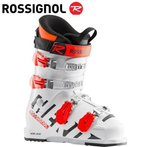 ROSSIGNOL ロシニョール 19-20 スキーブーツ 2020 HERO JR 65 ヒーロージュニア65 ジュニア スキーブーツ レーシング (白い):