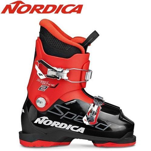 NORDICA ノルディカ 19-20 スキーブーツ 2020 SPEEDMACHINE J2 スピードマシーン ジュニア スキーブーツ (BK-赤):