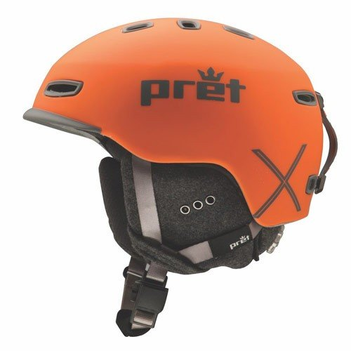 Pret プレット 17-18 ヘルメット Cynic X Orange シニックエックス スキーヘルメット HELMET 2018 :