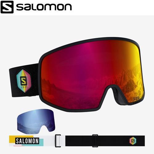 人気定番の SALOMON サロモン 19-20 LO FI SIGMA Black Safran ゴーグル ボーナスレンズ付き スキーゴーグル 2020 (1col):L408815, バイヤーズネットクラブ2 c8b885c7