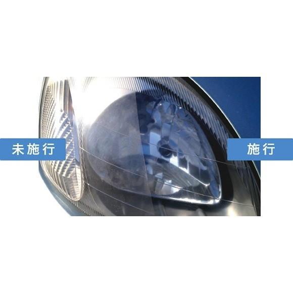 【在庫有】横浜油脂 HD-1 ベースクリーナー360ml/ガラスプロテクト35mlセット 約20回分ヘッドライトコーティング ヘッドライトレンズの黄ばみ除去 gyouhan-shop 02