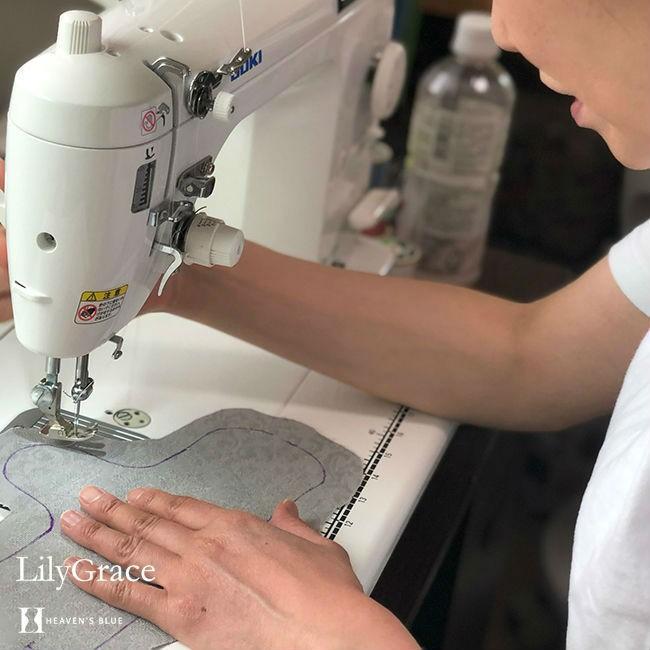 布ナプキン シルク ライナー おりものシート 約17cm シルク100% リリィグレイス 布ナプ おりもの 日本製 【ネコポス対応可】|h-blue|17