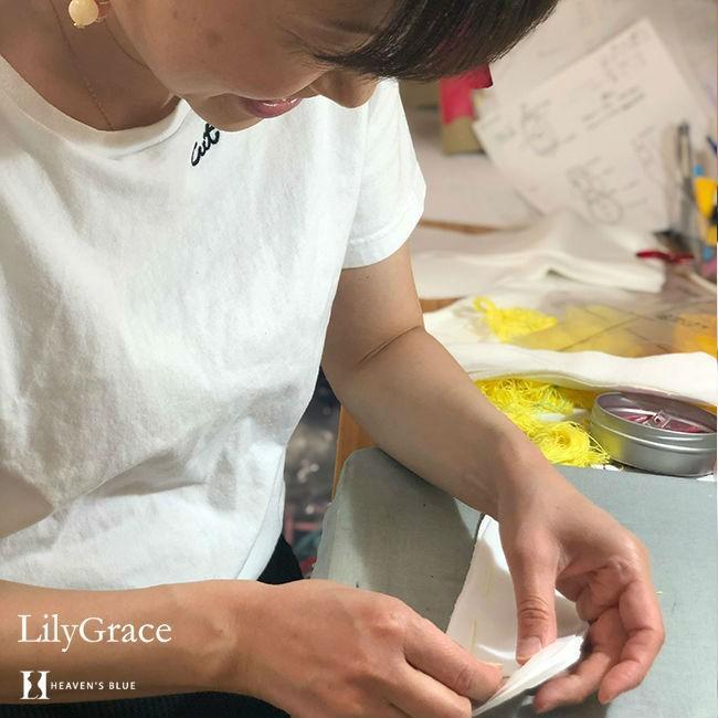 布ナプキン シルク ライナー おりものシート 約17cm シルク100% リリィグレイス 布ナプ おりもの 日本製 【ネコポス対応可】|h-blue|18
