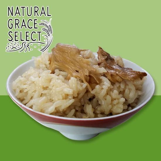 比内地鶏 丸鶏ガラ100%のスープで炊く 舞茸めしの素|h-kometen|04