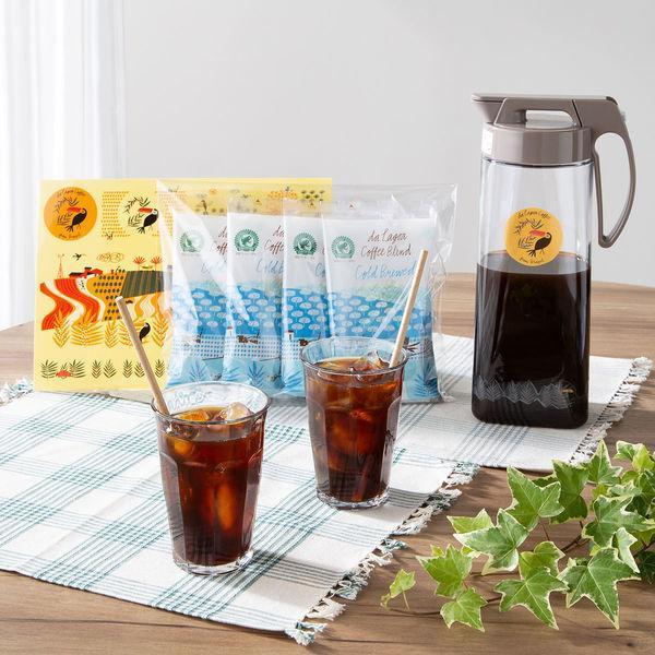 ダ ラゴア農園水出しコーヒー+ピッチャー+ステッカー