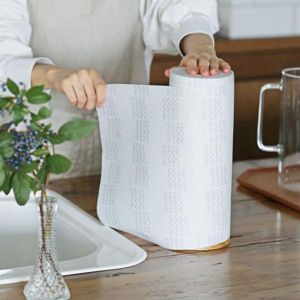 スコッティファイン 洗って使えるペーパータオル極厚手 1ロール