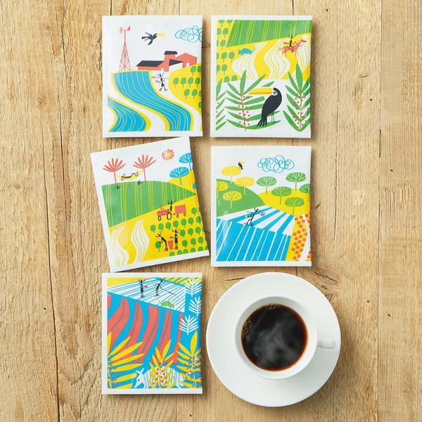 【ドリップコーヒー】関西アライドコーヒーロースターズ ダ ラゴア農園ブレンド 1箱(100袋入)