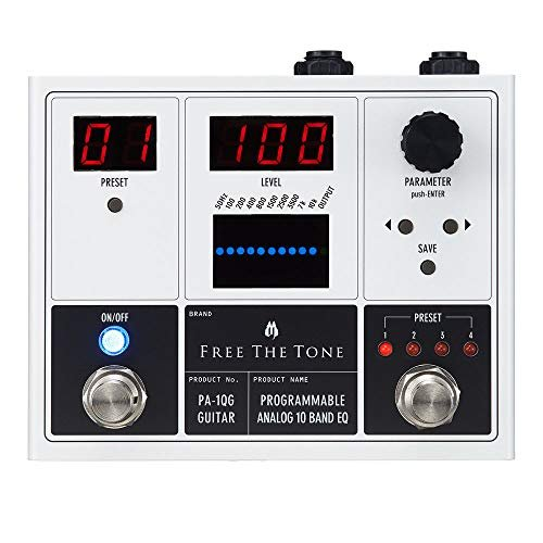 Free The Tone PA-1QG PROGRAMMABLE ANALOG 10 BAND EQ ギターエフェクター