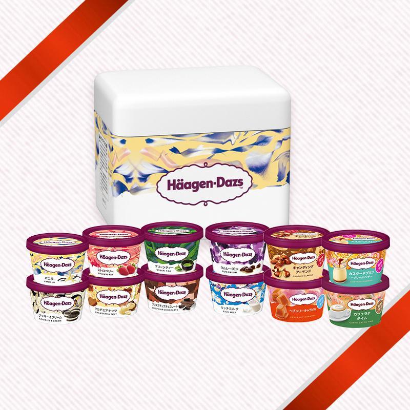 ハーゲンダッツ 上等 アイスクリーム 再再販 バラエティ12個セット ミニカップ