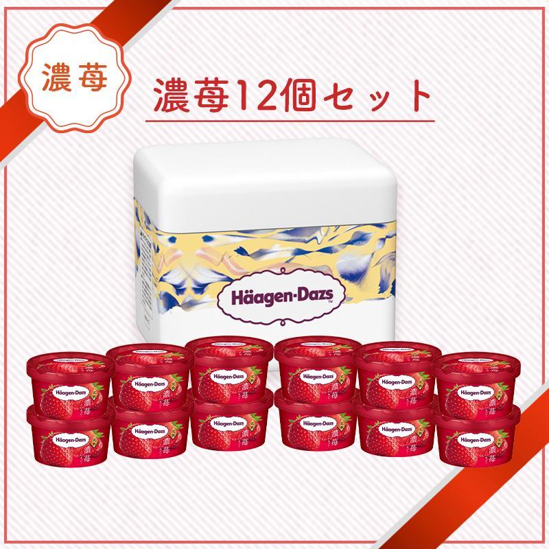 ハーゲンダッツ アイスクリーム チープ 濃苺12個セット 商品追加値下げ在庫復活