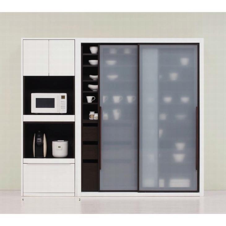 食器棚 完成品 おしゃれ 160 日本製 キッチンボード 大容量 キッチン収納 開梱設置送料無料 日本一の家具産地大川の家具 大川家具