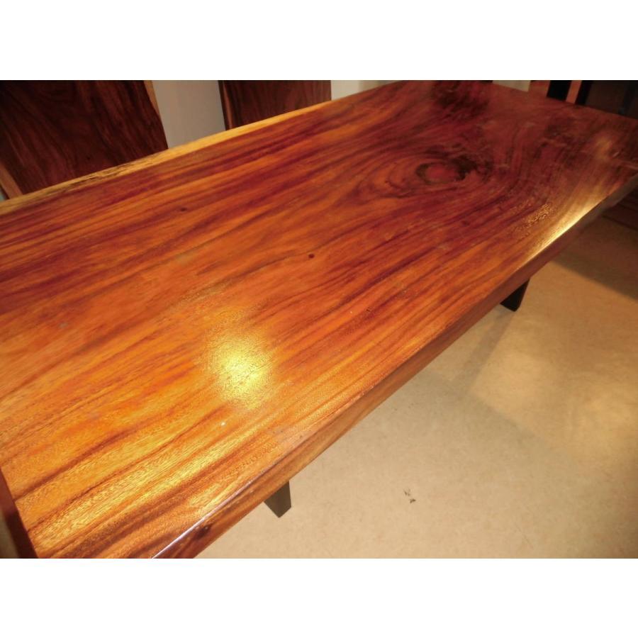 A-048■ ジャトバ ダイニングテーブル 豪華テーブル ローテーブル ダイニング カウンター 座卓 天板 無垢一枚板