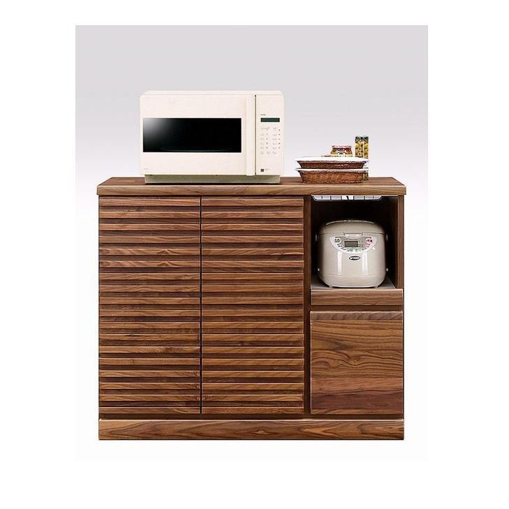 キッチンカウンター レンジ台 100 おしゃれ 日本製 完成品 木製 食器棚 ダイニングボード キッチン収納 開梱設置送料無料 日本一の家具産地大川の家具