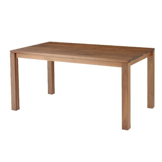 ダイニングテーブル 長方形 150×80 無垢 木製 おしゃれ 脚デザイン選択より選択 開梱設置送料無料 日本製