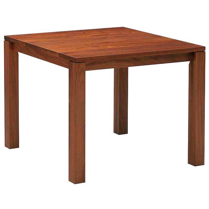 ダイニングテーブル 100×100 正方形 日本製 ブラックチェリー 木製 無垢 おしゃれ ハイタイプ 開梱設置送料無料