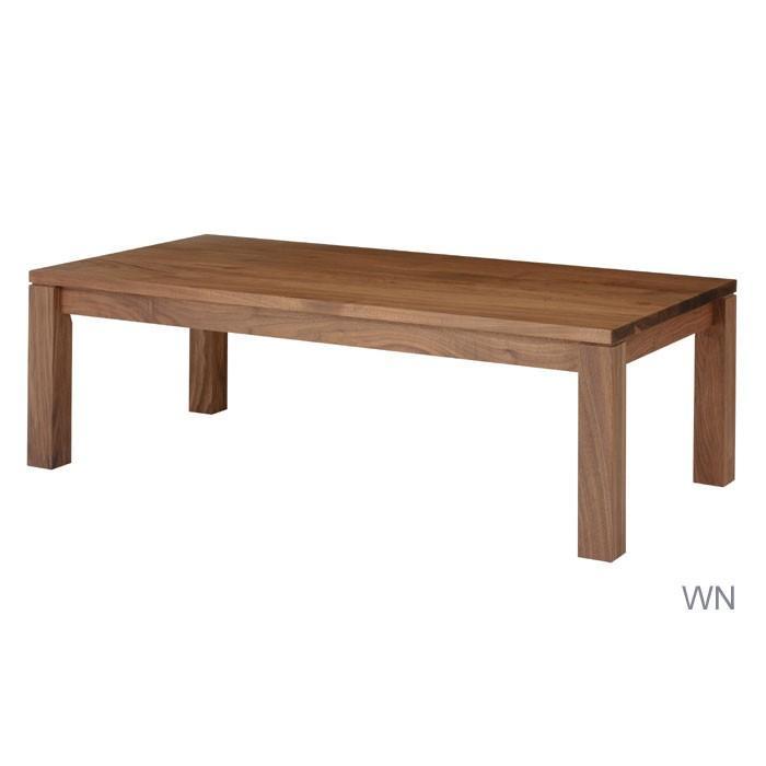 リビングテーブル 110×60 ブラックチェリー 日本製 木製 食卓テーブル 長方形 無垢 (脚はA〜Fの6タイプより選択)