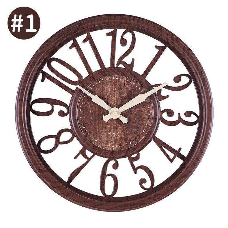 壁掛け時計 時計 壁掛け 掛け時計 おしゃれ 北欧 木目調 静音 非電波 シンプル デジタル 見やすい お洒落 装飾 インテリア飾り 引越し祝い 新築祝い 30cm|hachihachi618|15