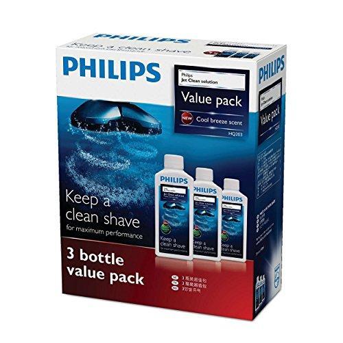 フィリップス ジェットクリーン クリーニング液 センソタッチ3D & 2Dシリーズ用 3個パック (3ヶ月分) HQ203/61|hachistore